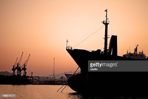 perama shipyards - piraeus stock photos and pictures