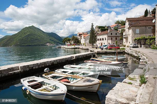 Perast waterside village, Montenegro
