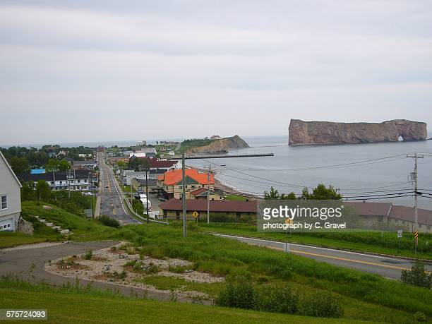 percé road - gaspe peninsula stock pictures, royalty-free photos & images