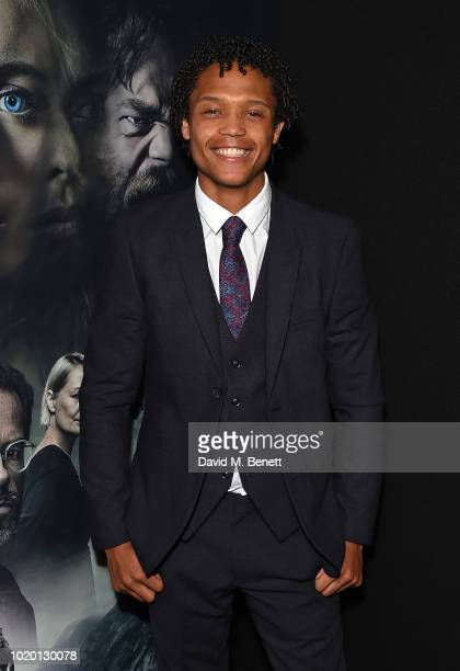 Percelle Ascott attends a special screening of 'The Innocents' at The Curzon Mayfair on August 20 2018 in London England