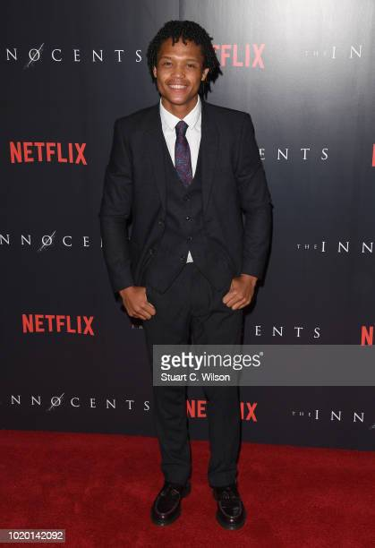 Percelle Ascott attends a special screening of the Netflix show The Innocents at the Curzon Mayfair on August 20 2018 in London England