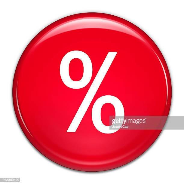 Percentage Button (with clipping path)