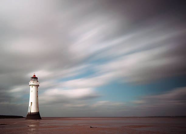 Perch Rock lighthouse long exposure
