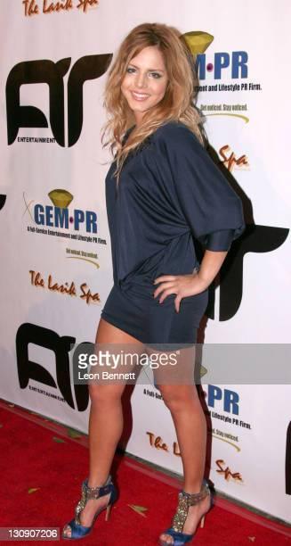 Percilla Pompa during Antonio Tarver Presents MGM's Rocky Balboa Premiere Release KickOff Bash at The Garden of Eden in Los Angeles California United...