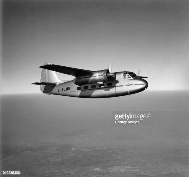 Percival P50 Prince 2 GALWH in flight over Falconwood Bromley Kent 1950 This image has been produced from a print