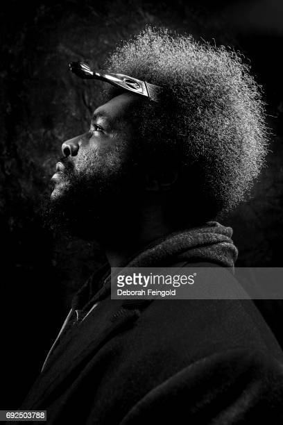 Percusionist producer musician Questlove poses for a portrait in 2014 in New York City New York