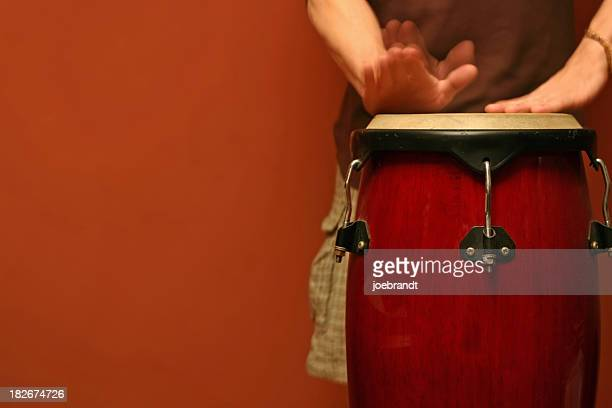 Percussion-Spieler (Motion Blur