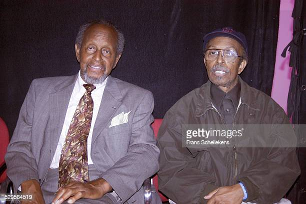 Percy and Jimmy Heath perform at the North Sea Jazz Festival on July 14th 2002 in Amsterdam, Netherlands.