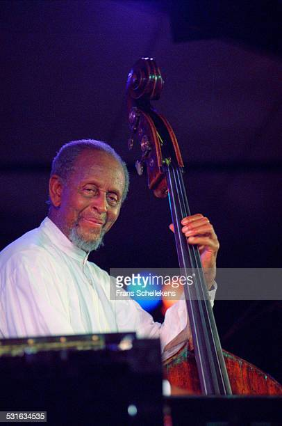 Percy Heath, bass, performs with the Heath Brothers at the North Sea Jazz Festival in Congresgebouw on July 14th 2002 in the Hague, Netherlands.