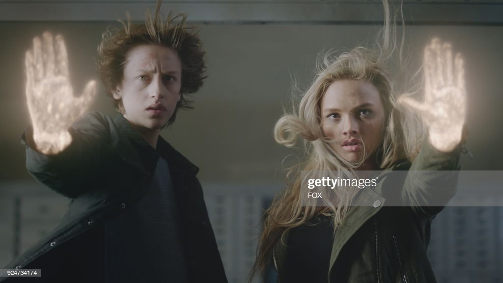 Percy Hynes White and Natalie Alyn Lind in the second part of the eXtraction/X-roads two-hour season finale of THE GIFTED airing Monday, Jan. 15 (8:00-10:00 PM ET/PT) on FOX.