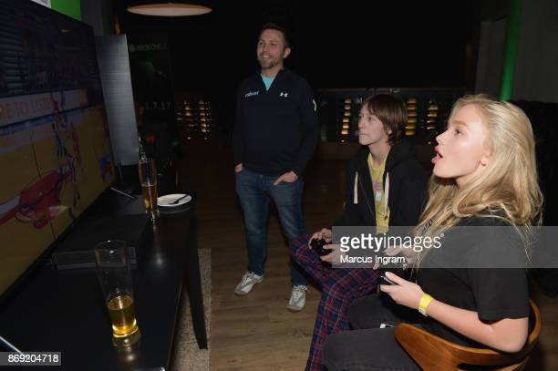 Percy HynesWhite and Natalie Alya Lind attend the Xbox One X Launch Event at 5Church on November 1 2017 in Atlanta Georgia