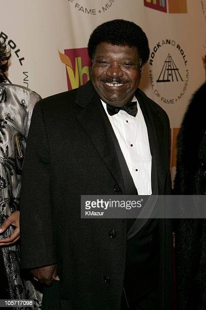 Percy Sledge inductee during 20th Annual Rock and Roll Hall of Fame Induction Ceremony Red Carpet at Waldorf Astoria in New York City New York United...