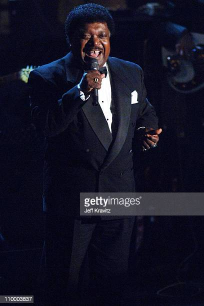 Percy Sledge, inductee during 20th Annual Rock and Roll Hall of Fame Induction Ceremony - Show at Waldorf Astoria Hotel in New York City, New York,...