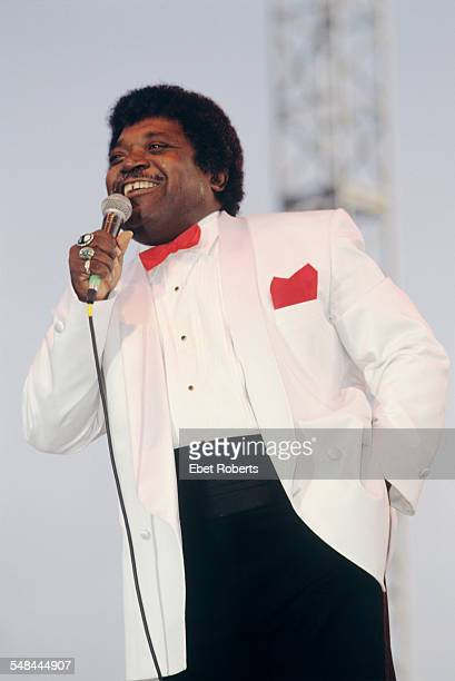 Percy Sledge performing at the Beale Street Music Festival in Memphis, Tennessee on May 8, 1994.