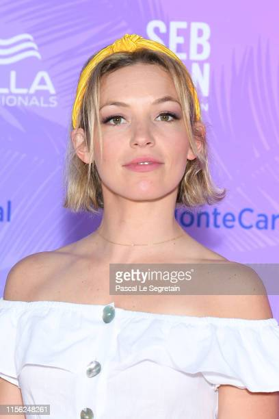 Perdita Weeks arrives at the 59th Monte Carlo TV Festival TV Series Party on June 15 2019 in MonteCarlo Monaco