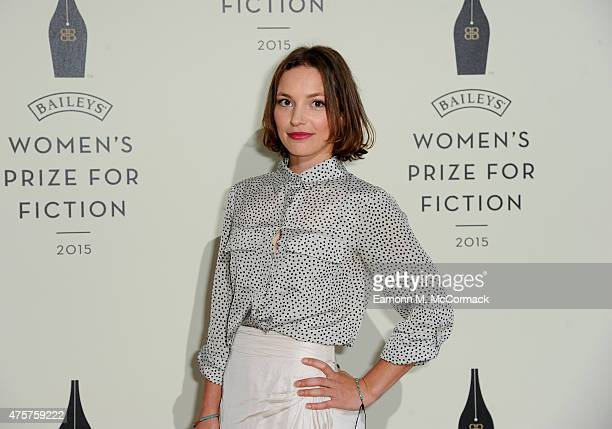 Perdita Weeks arrives to celebrate the 2015 Baileys Women's Prize for Fiction at London's Royal Festival Hall on Wednesday 3 June 2015 in London...