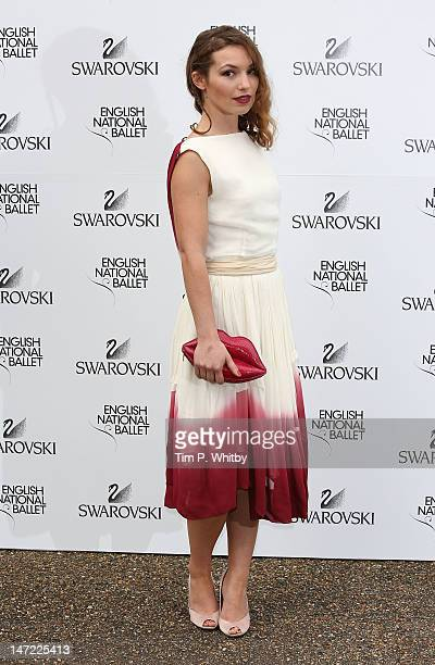 Perdita Weeks attends the English National Ballet's summer party at Kensington Palace on June 27 2012 in London England