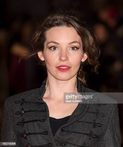 Perdita Weeks attends the UK Premiere of 'Arbitrage' at Odeon West End on February 20 2013 in London England