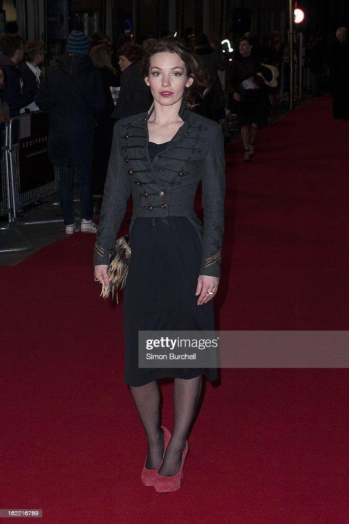 Arbitrage - UK Film Premiere - Arrivals : News Photo