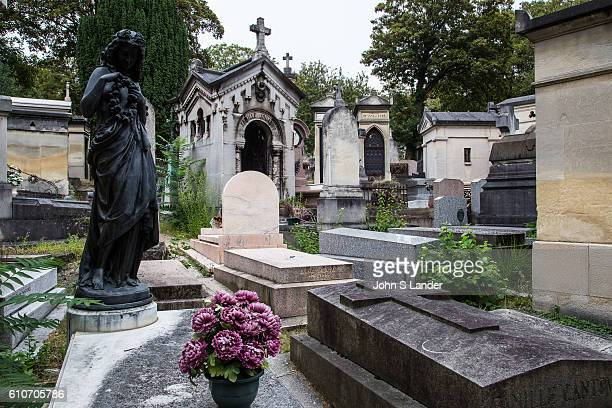 Pere Lachaise Cemetery is the largest cemetery in Paris notable for the place where many celebrities artists writers and luminaries are buried...