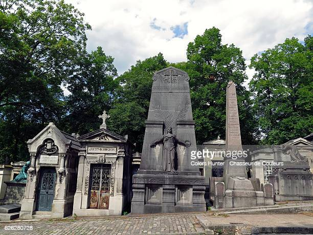 Pere Lachaise Cemetery View