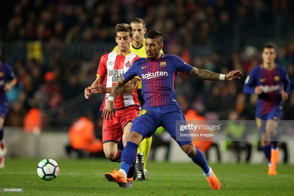 FC Barcelona v Girona - La Liga Santander : News Photo