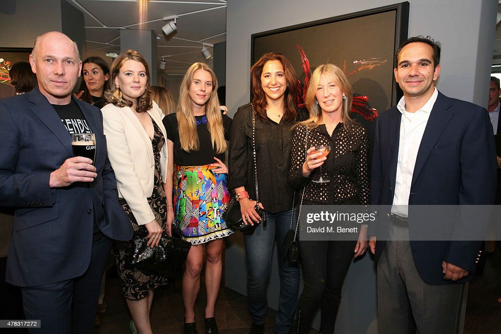 "Private View of ""Firedance"" - Michael Flatley's Art Exhibition : News Photo"