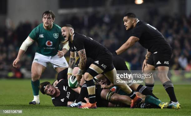 Perenara of New Zealand during the International Friendly rugby match between Ireland and New Zealand on November 17 2018 in Dublin Ireland