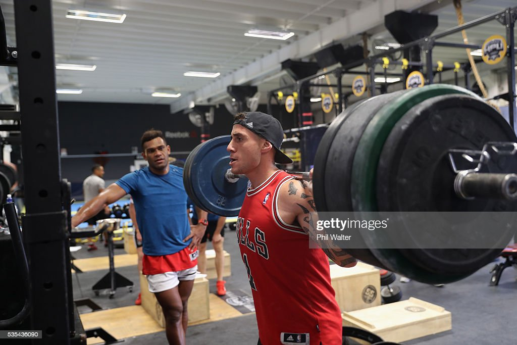 New Zealand All Black Gym Session