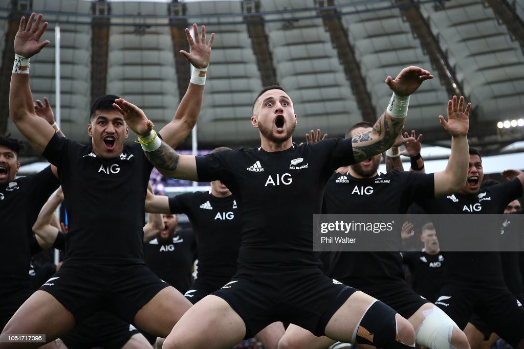 New Zealand All Blacks v Italy : ニュース写真