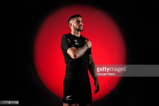 Perenara of the All Blacks poses for a portrait on August 29 2019 in Auckland New Zealand