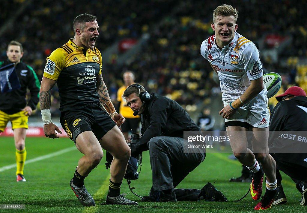 Super Rugby Semi Final - Hurricanes v Chiefs : News Photo
