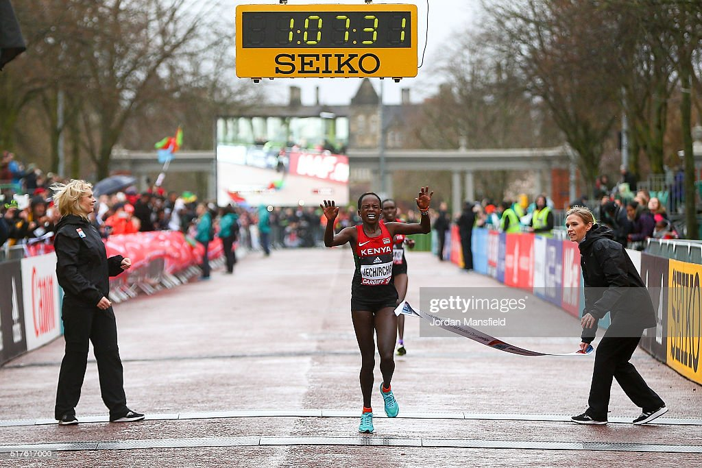 IAAF/Cardiff University World Half Marathon Championships : News Photo
