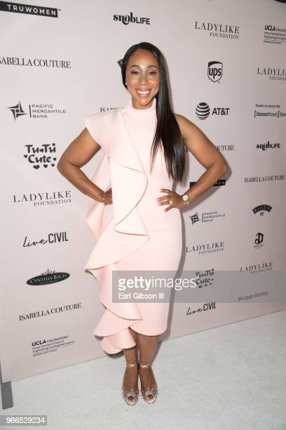Peresident and CEO of Ladylike Foundation Leah Pump attends the Ladylike Foundation's 2018 Annual Women Of Excellence Scholarship Luncheon at The...