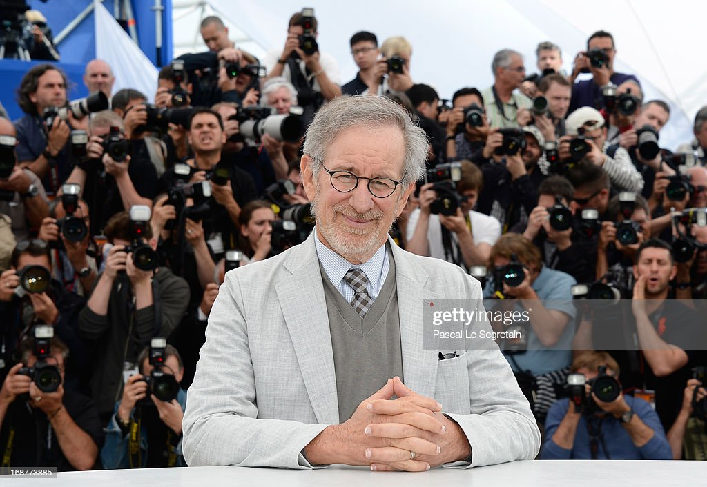 Peresident of the Jury Steven Spielberg attends the Jury Photocall during the 66th Annual Cannes Film Festival at the Palais des Festivals on May 15, 2013 in Cannes, France.