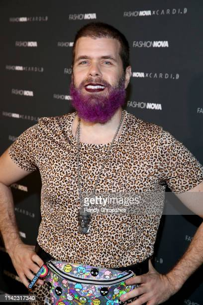 Perez Hilton arrives as Fashion Nova Presents Party With Cardi at Hollywood Palladium on May 8 2019 in Los Angeles California