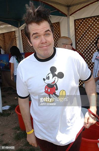 Perez Hilton at the A Time for Heroes Celebrity Carnival Sponsored by Disney benefiting the Elizabeth Glaser Pediatric AIDS Foundation at the...