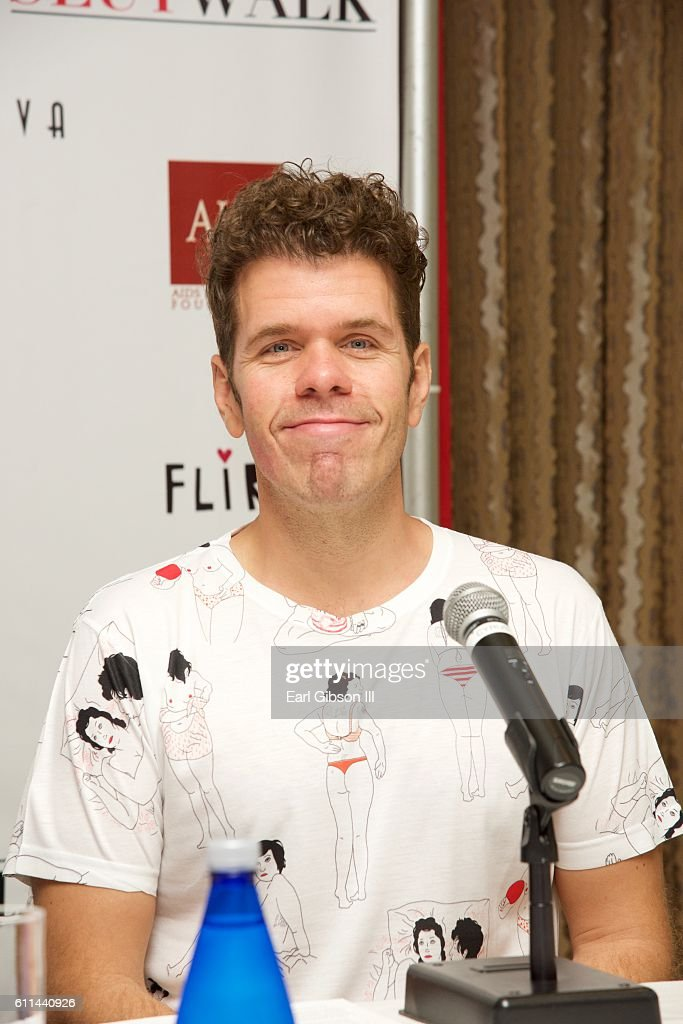 Perez Hilton attends SlutwalkFestival-Press Conference with Amber Rose and Perez Hilton at Four Seasons Hotel Los Angeles at Beverly Hills on September 29, 2016 in Los Angeles, California.