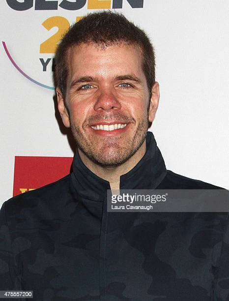 Perez Hilton attends the 2015 GLSEN Respect Awards at Cipriani 42nd Street on June 1 2015 in New York City