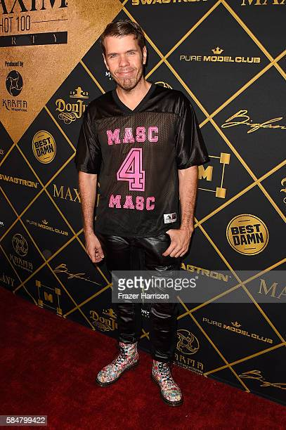 Perez Hilton attends the 2016 MAXIM Hot 100 Party at the Hollywood Palladium on July 30 2016 in Los Angeles California