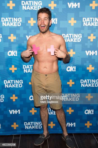 Perez Hilton attends the Dated Naked series premiere at the Gansevoort Park Avenue Hotel on July 16 2014 in New York City