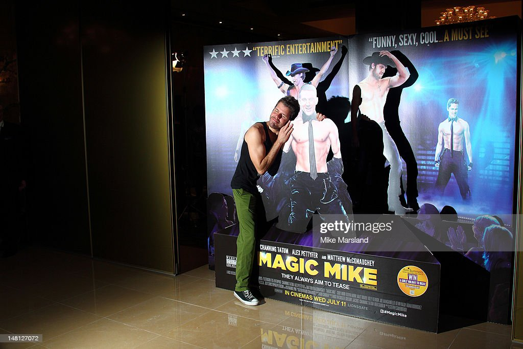 Perez Hilton attends the European premiere of 'Magic Mike' at The Mayfair Hotel on July 10, 2012 in London, England.