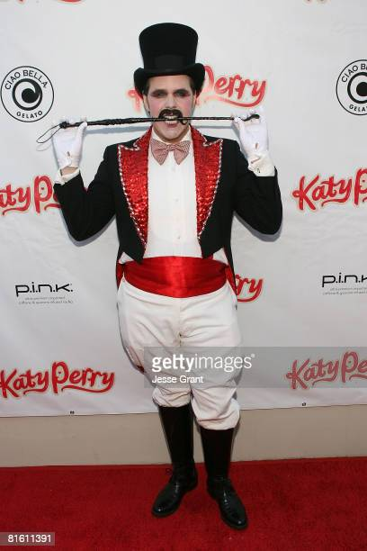 Perez Hilton attends the Katy Perry record release party for One of the Boys at Capitol Records on June 17 2008 in Los Angeles California