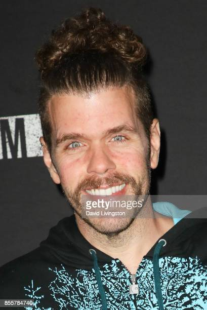 Perez Hilton attends the Knott's Scary Farm and Instagram's Celebrity Night at Knott's Berry Farm on September 29 2017 in Buena Park California