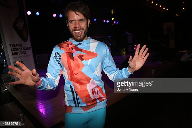 Perez Hilton attends the Perez Hilton CD release party at Marlin Room at Webster Hall on December 3 2013 in New York City