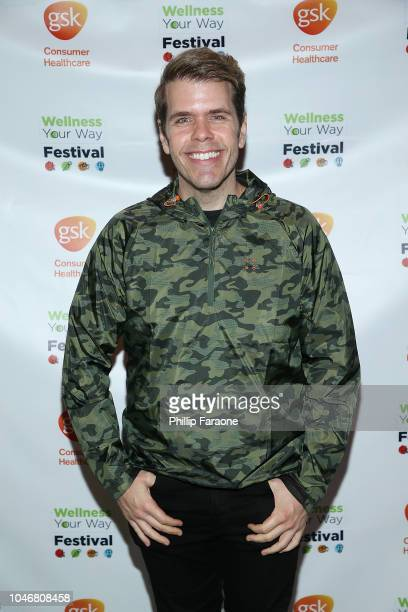 Perez Hilton attends the Wellness Your Way Festival at Duke Energy Convention Center on October 6 2018 in Cincinnati Ohio