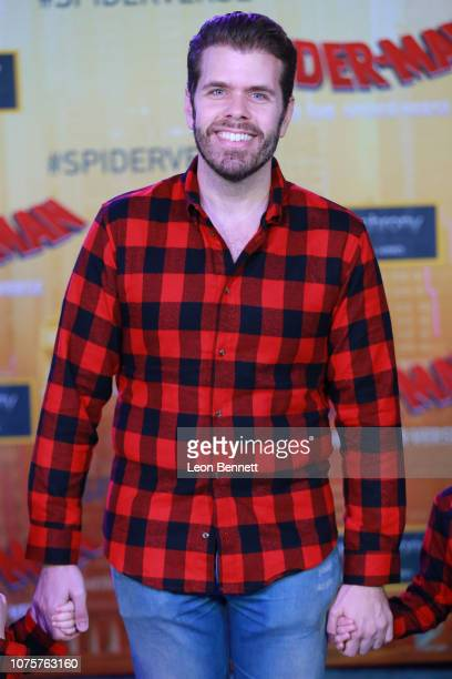Perez Hilton attends World Premiere Of Sony Pictures Animation And Marvel's SpiderMan Into The SpiderVerse at Regency Village Theatre on December 01...