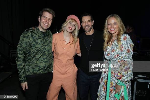 Perez Hilton Natasha Bedingfield Tony Horton and Jewel attend the Wellness Your Way Festival at Duke Energy Convention Center on October 6 2018 in...