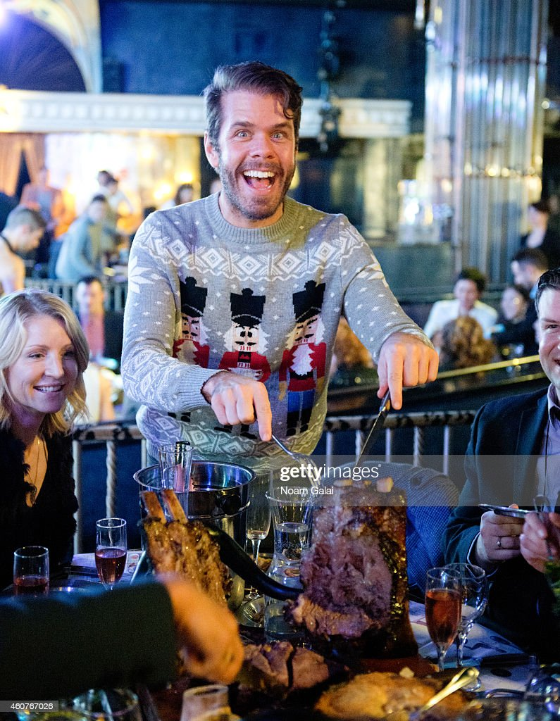 Perez Hilton visits Queen Of The Night In NYC on December 19, 2014 in New York City.