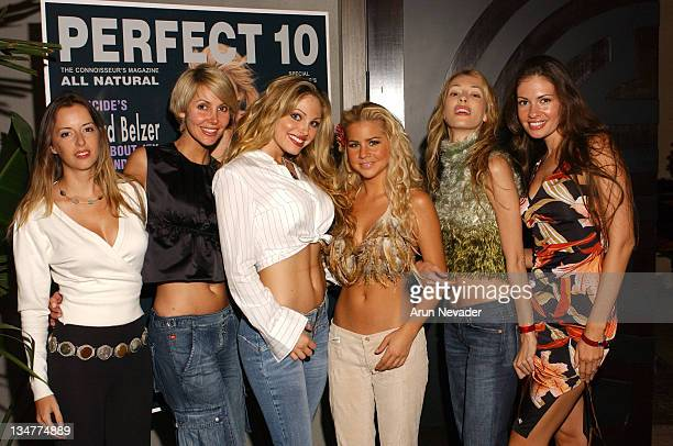 Perfect 10 models during Perfect 10 Magazine Introduces Perfect 10 Knockouts at Hollywood in Hollywood California United States